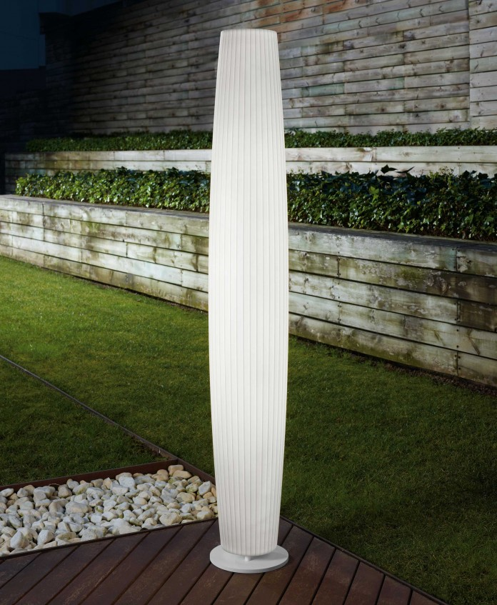 Maxi P Tall Outdoor Floor Lamp by Bover