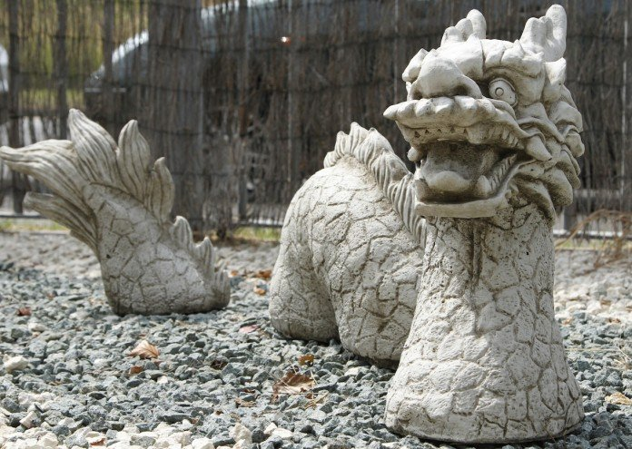Creative Garden Dragon Statue