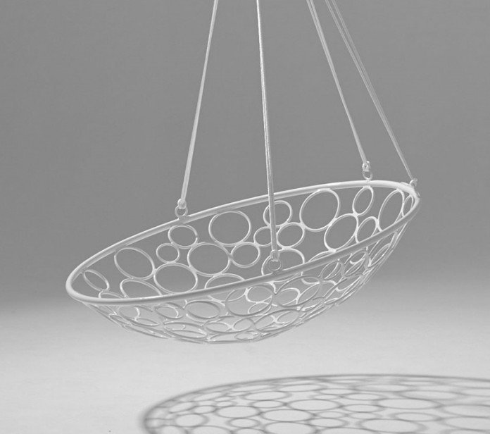 Studio Stirling Basket Of Circles hanging chair