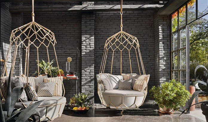 Hanging Chairs From Gravity Garden