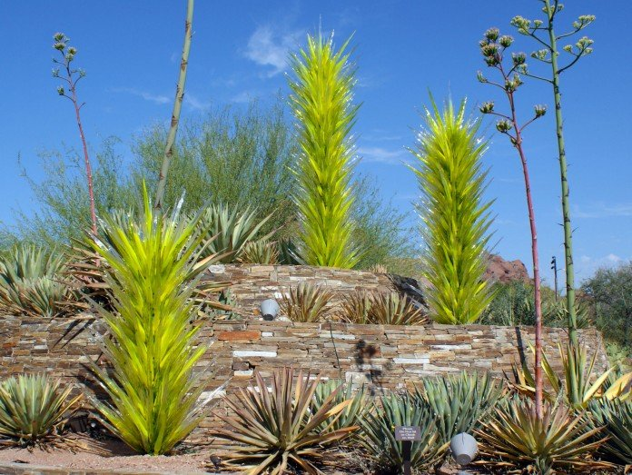 Garden Art Chihuly Cacti