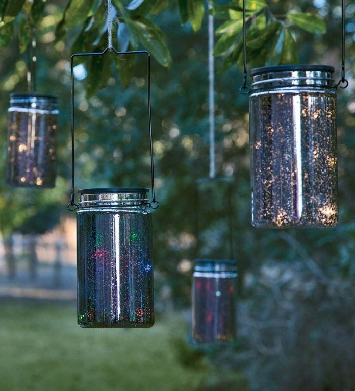 Solar Lighting Ideas for Mason Jars