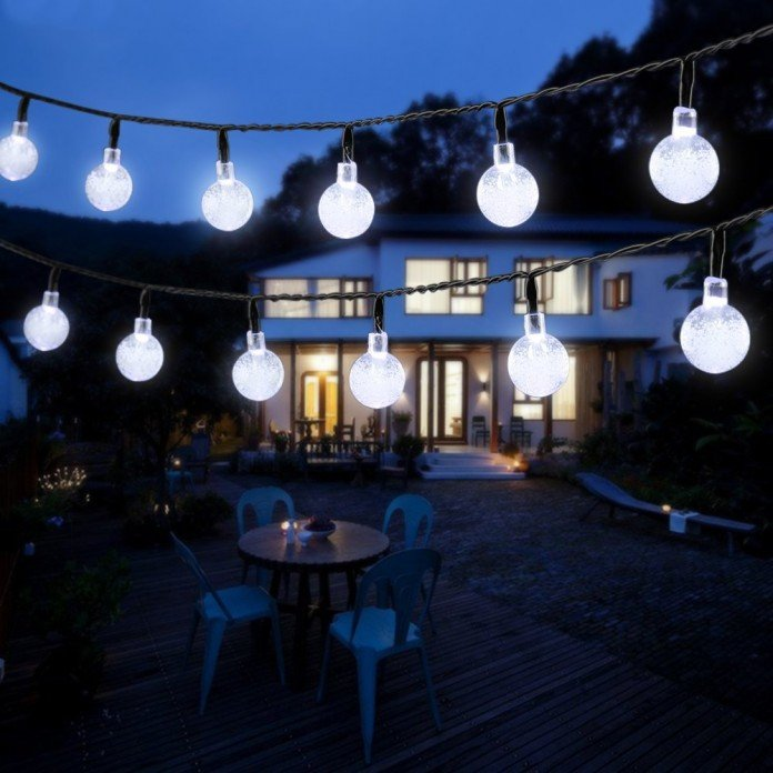 Solar Lighting Ideas White Bulbs