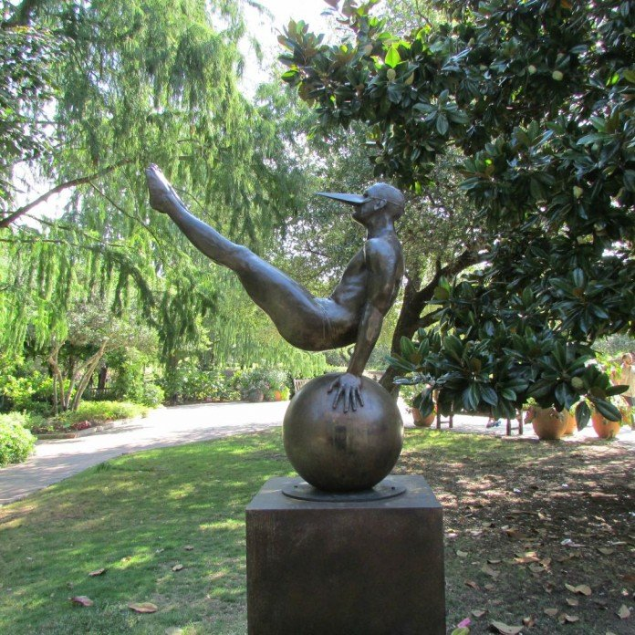 Jorge Marin Sculpture Art in the Garden
