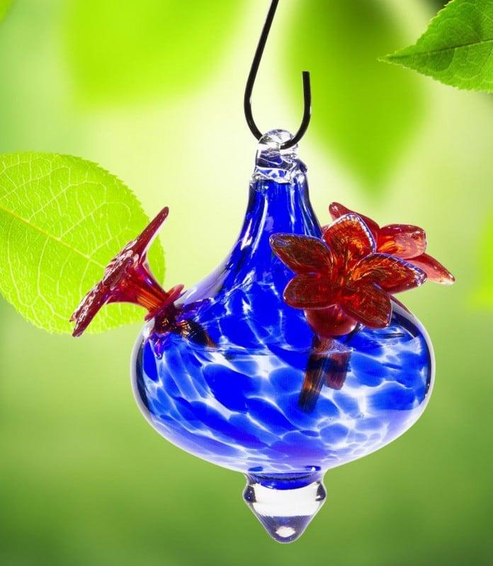 Cobalt blue mottled