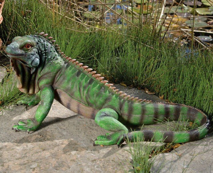 Iguana Garden Ornament