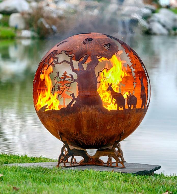 fire balls Kangaroos