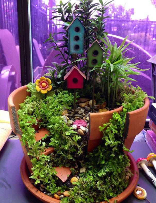 Fairy Garden Birdhouses