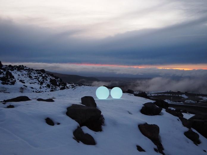 Winter Spheres of Light