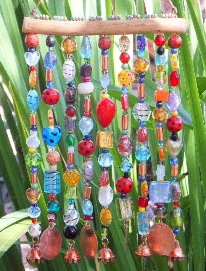 Colorful Bead Chimes idea