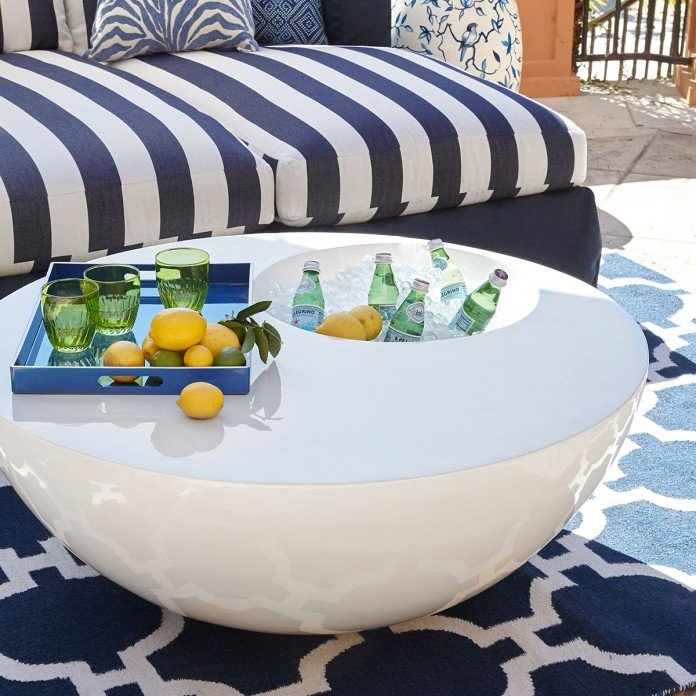 Outdoor Ice Chest Beverage Cooler Ideas