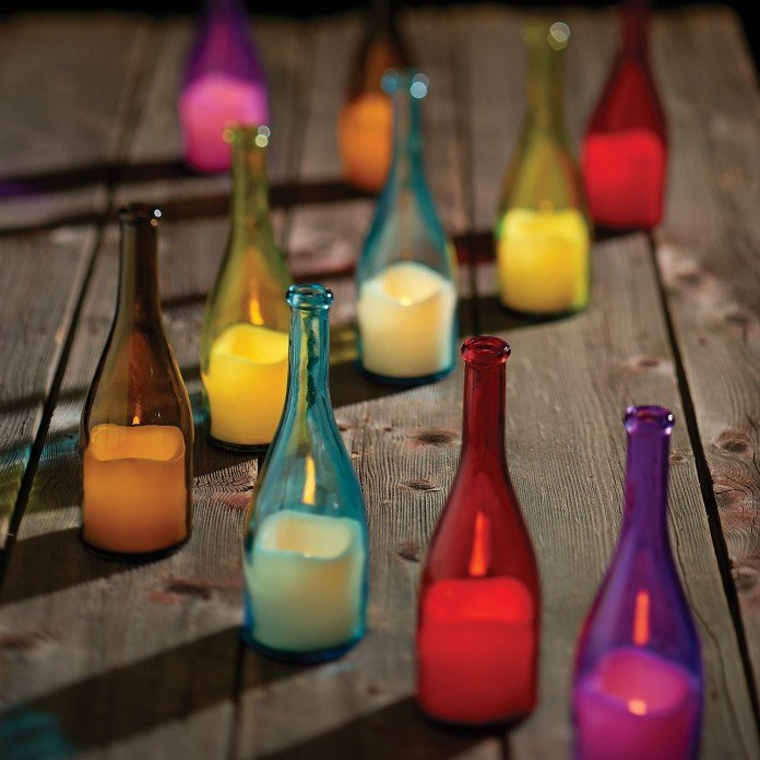 60 Creative Diy Glass Bottle Ideas For Your Outdoor Living Space