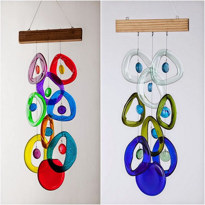 Recycled Bottle Chimes