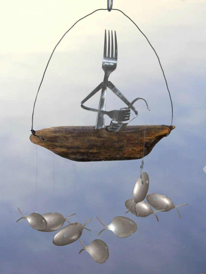 Gone Fishing, said the fork