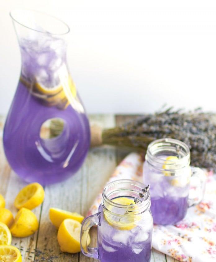 Lavender lemonade for Solstice