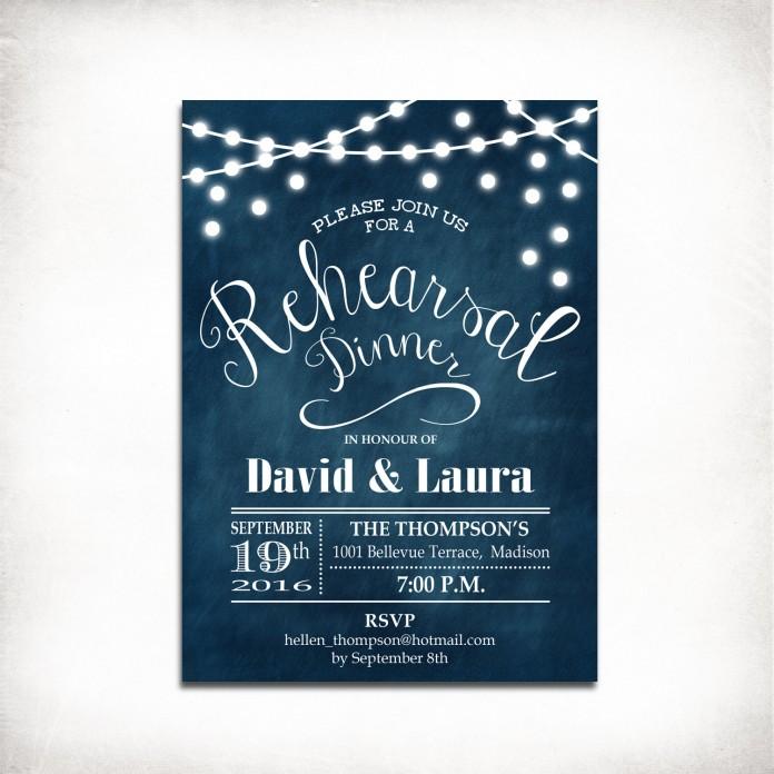 White Lights Solstice Invitation