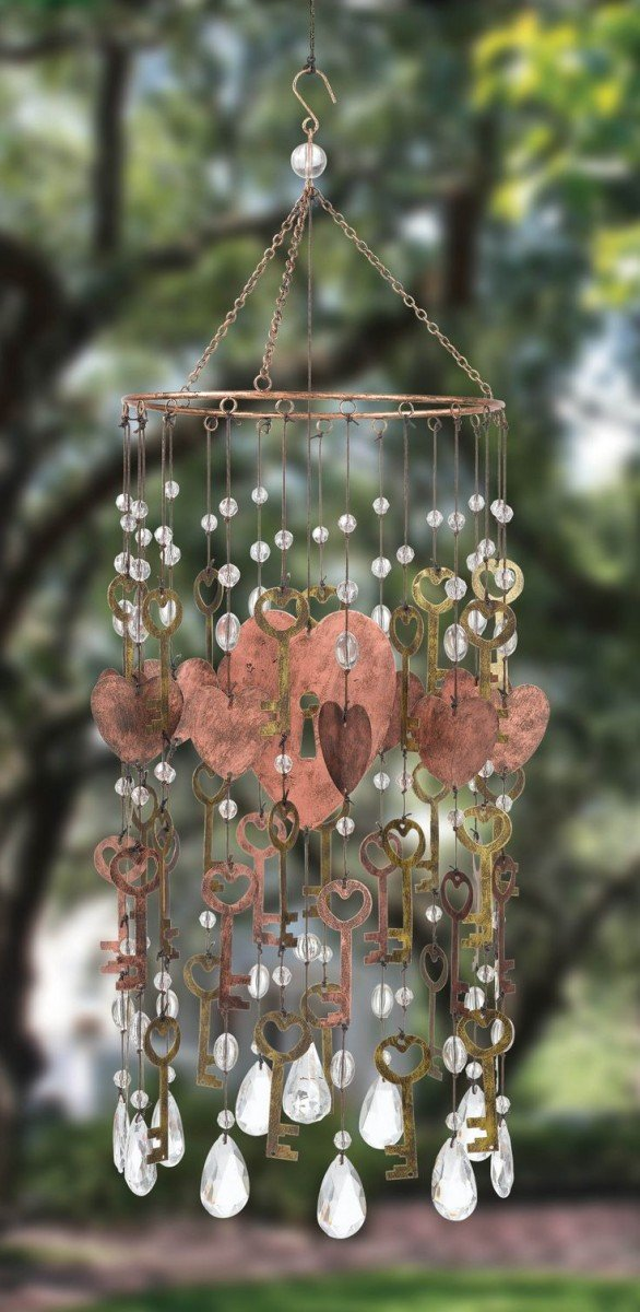 Love is in the Air Wind Chime design