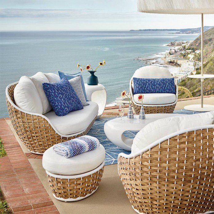 ... Outdoor Wicker Furniture Design Ideas Come From Front Gate. High End  Organic Woven Wicker