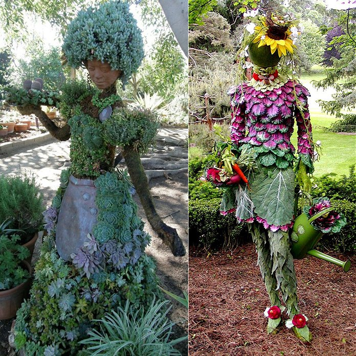 Unusual and Creative Garden Statues and Ornaments