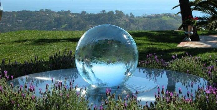 54 garden water features awesome outdoor design ideas for Sphere garden design