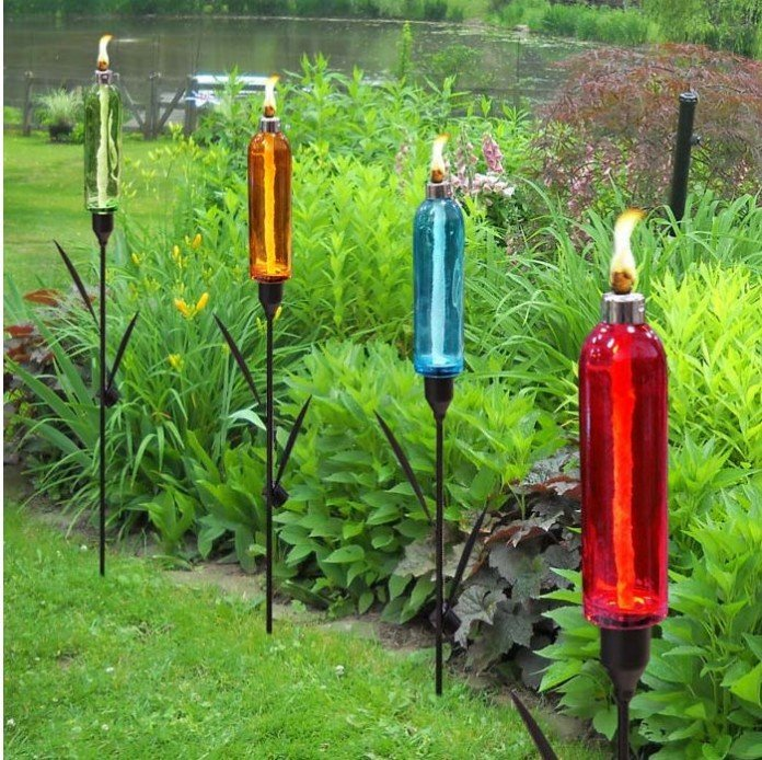 Colorful Gl Torch Lights