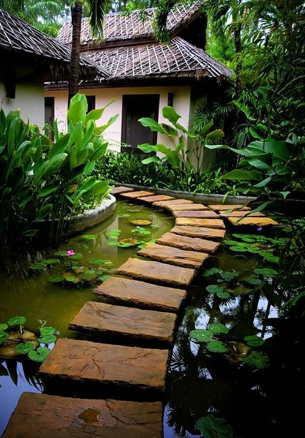 Water Garden and Koi Pond Designs for the Backyard and Patio on Backyard Koi Pond Designs id=16560