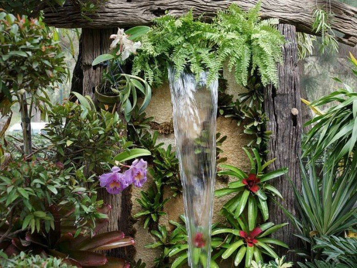 Tropical Waterfall Water Features