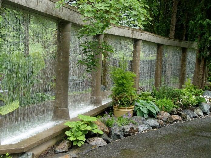 Rain Garden Wall Water Feature
