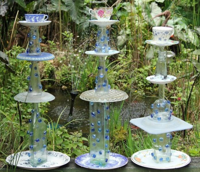 Garden Totem Balancing Act