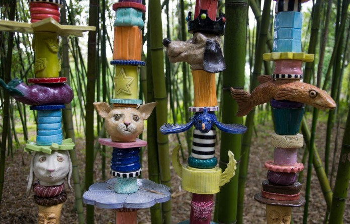 Spirit Animal Garden Totem