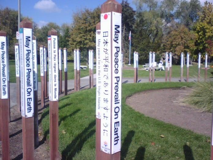 Original Peace Poles Garden Totems