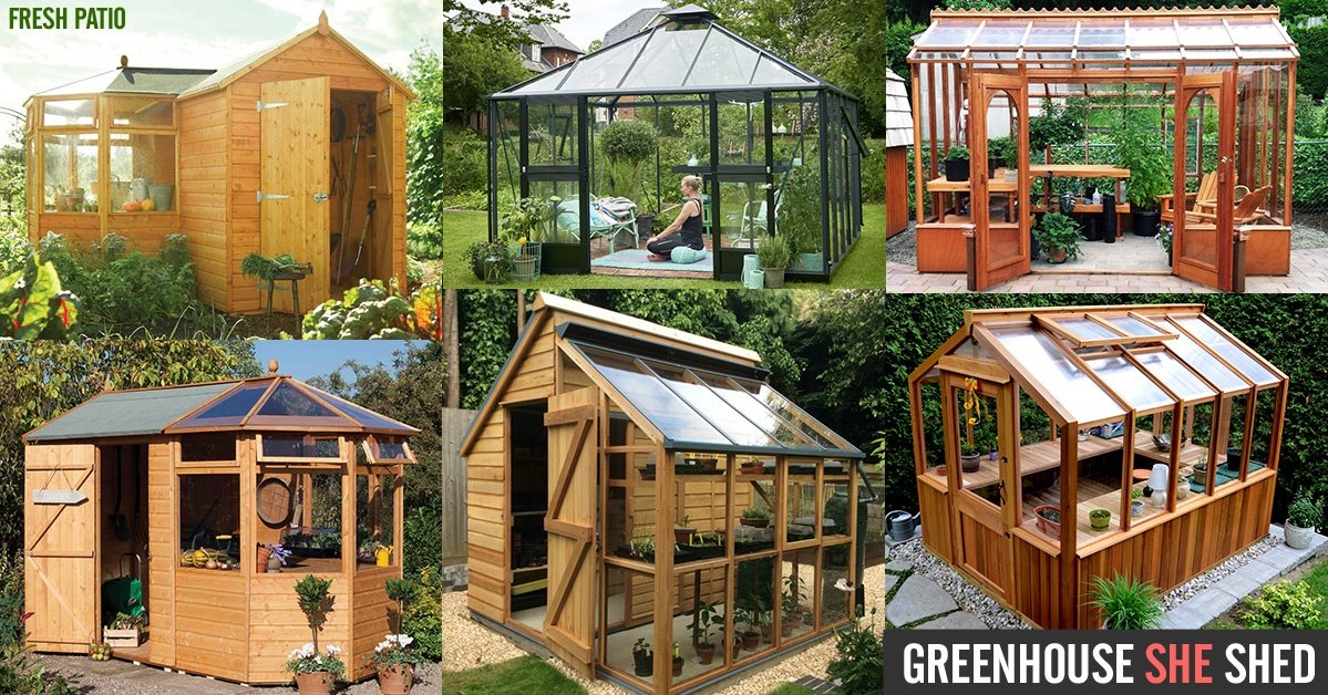 Greenhouse she shed 22 awesome diy kit ideas for Green home building kits