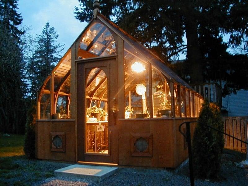 tudor-greenhouse-at-night