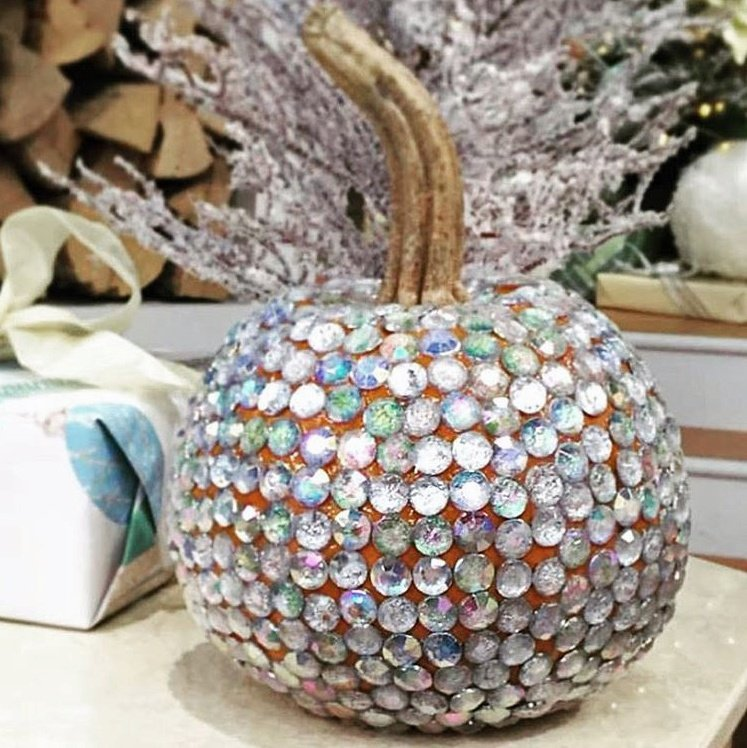 completely-bedazzled-pumpkin