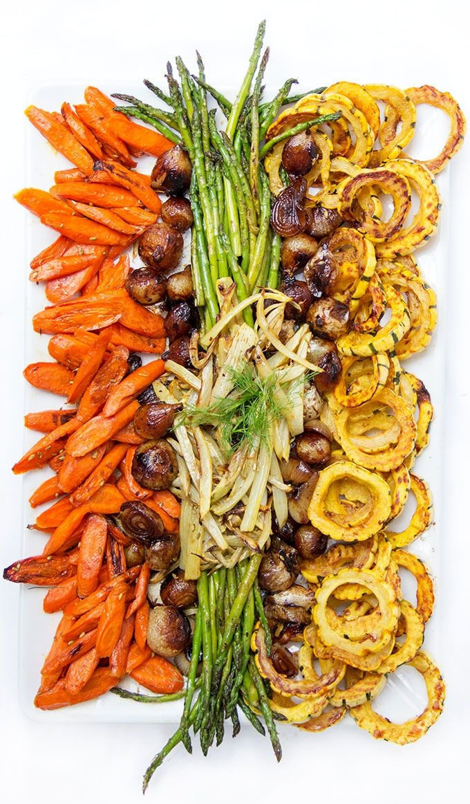 Grilled garden party veggies