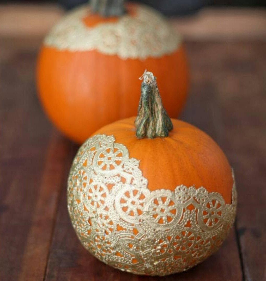 gold-doilies-pumpkin