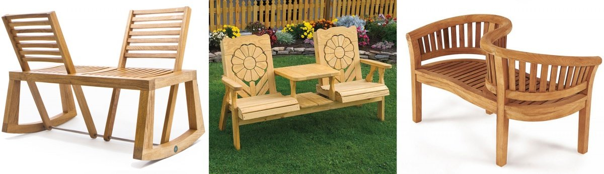 Patio Love Seat Ideas