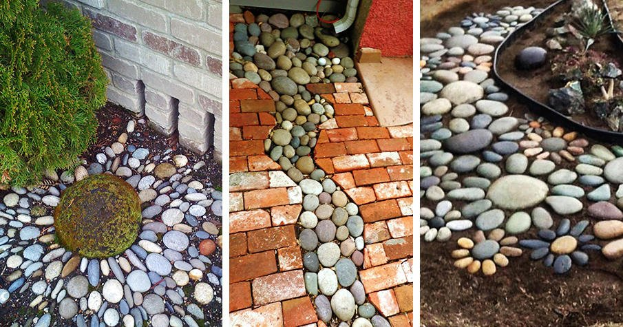 25 river rock garden ideas for beautiful diy designs - Rock Garden Ideas