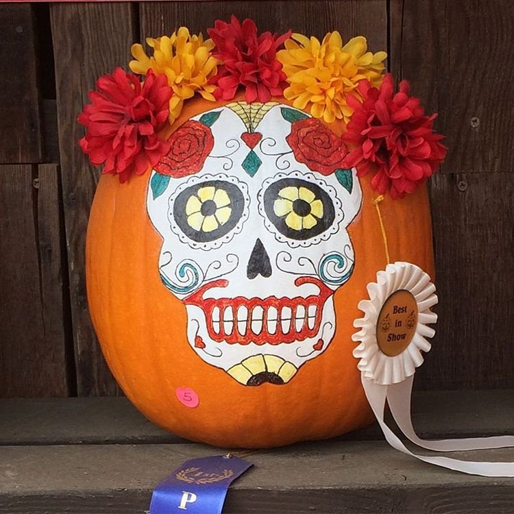 No carve pumpkin decorating ideas for fall