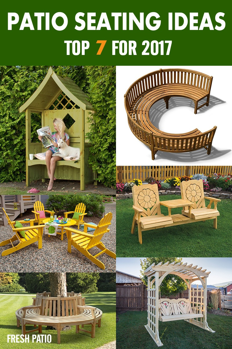 Top Seating Ideas for Patio for 2017