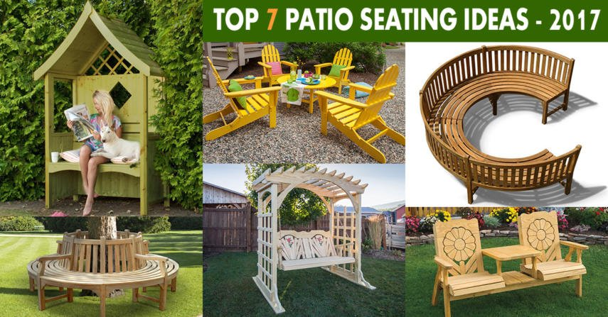 Patio seating ideas