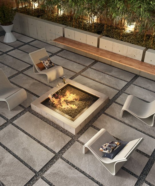 Stone Look Outdoor Porcelain Tile From Sant Agostino