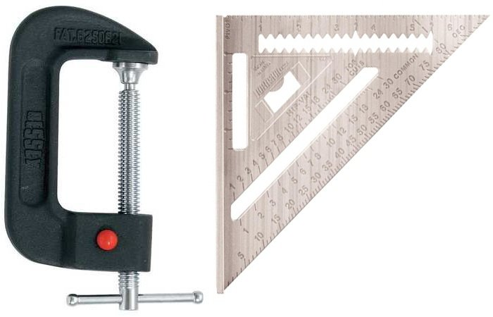 Woodworking tools needed to build a rack