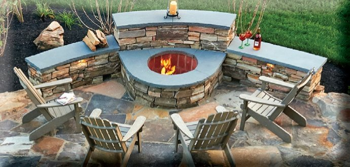 backyard fire pit ideas magical outdoor pit seating ideas amp area designs 12925