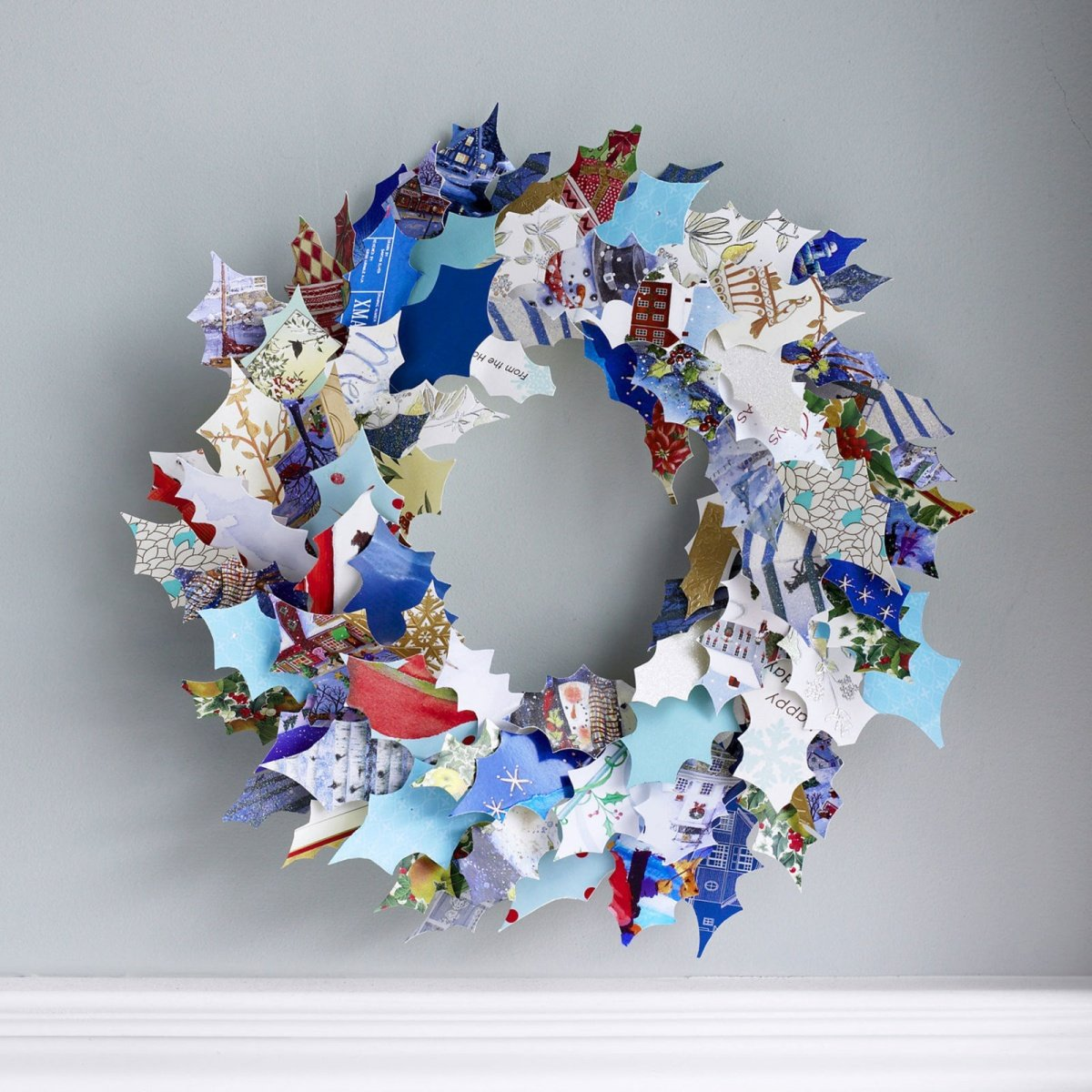 Paper Christmas Wreath Ideas.21 Artificial Christmas Wreath Ideas For Stunning Front Door