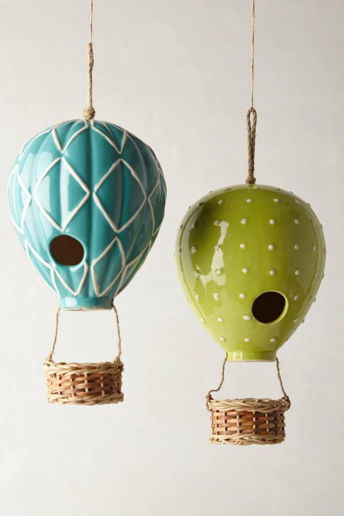 Hot Air Balloon BirdHouse