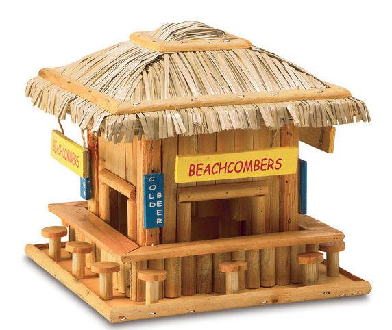 Beachcombers Tiki Bar Birdhouse