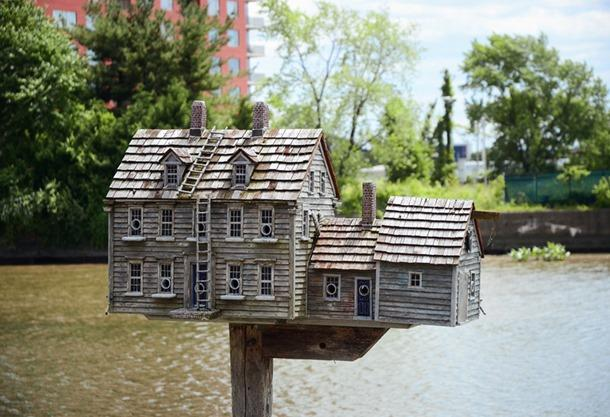Riverfront Birdhouse is detailed
