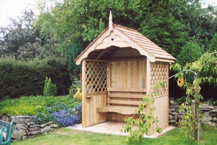 Wooden Gazebo Seating Building Plans