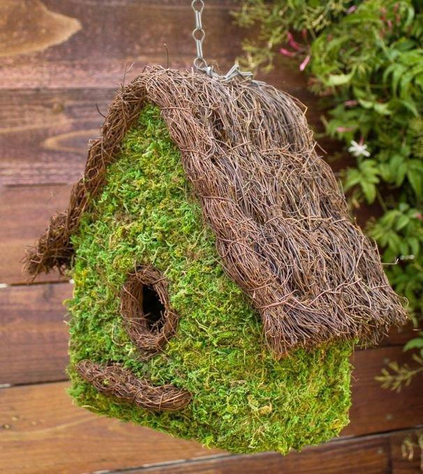 Natural Moss BirdHouse